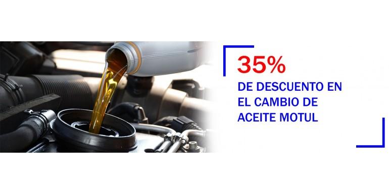 Cambio de aceite con descuento en Torremolinos