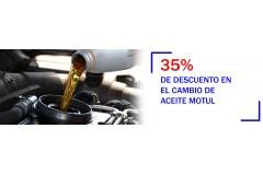 Cambio de aceite con descuento en Malaga