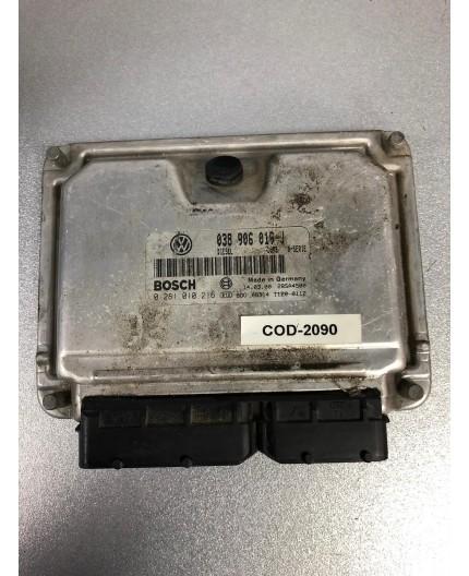 Unidad de motor ECU Volkswagen Sharan 1.9 TDI 0281010216 038906019J
