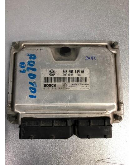 Unidad de motor ECU Volkswagen Polo 1.4 TDI 0281010503 045906019AB