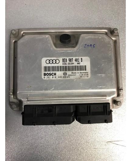 Unidad de motor ECU Audi A4 2.5 TDI 0281010446 8E0907401B