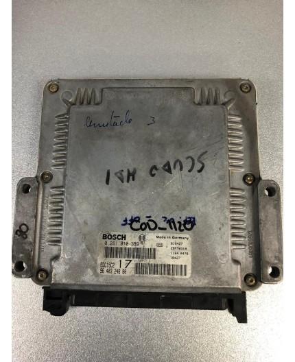 Unidad de motor ECU Citroen / Peugeot 2.0 HDI 0281010359 9640324880