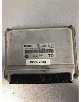Unidad de motor ECU Nissan Terrano 2.7 TD 0281010284 237107F404