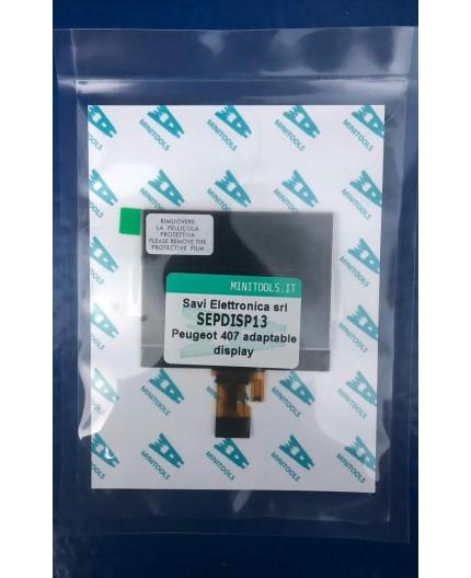 Pantalla LCD SEPDISP13 64x98 pixeles